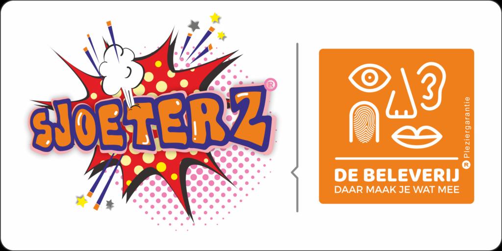 Sjoeterz is een concept van De Beleverij. Het avontuurlijke en sportieve spel levert veel grappige reacties op van de deelnemertjes.