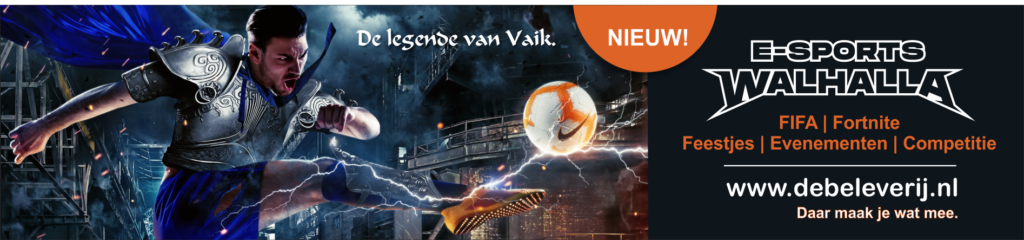 Nieuw: E-sports Walhalla